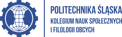 Logo Kolegium Nauk Społecznych i Filologii Obcych